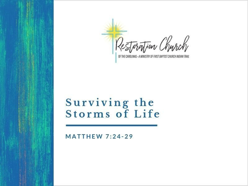 Surviving the Storms of Life Image