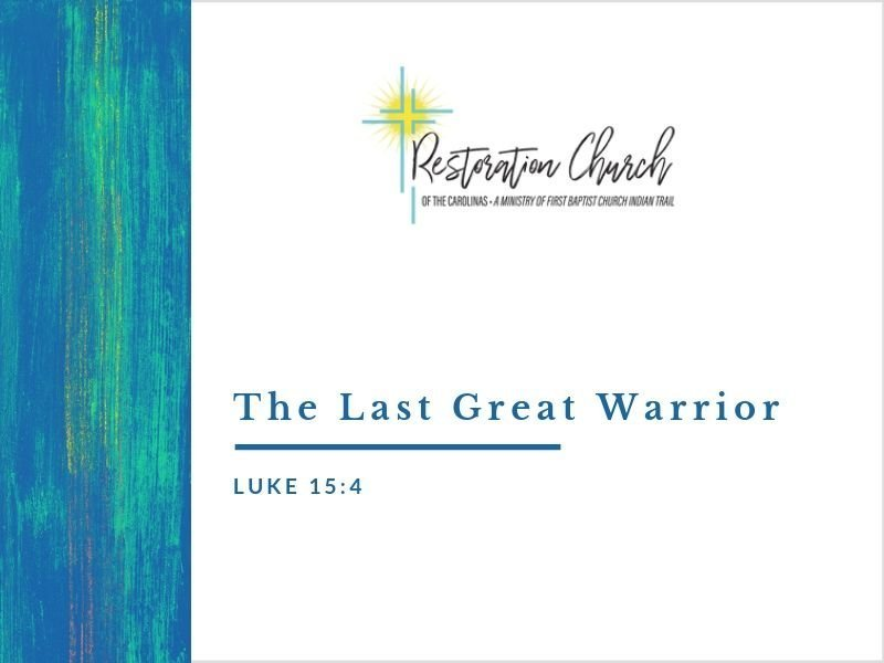The Last Great Warrior Image