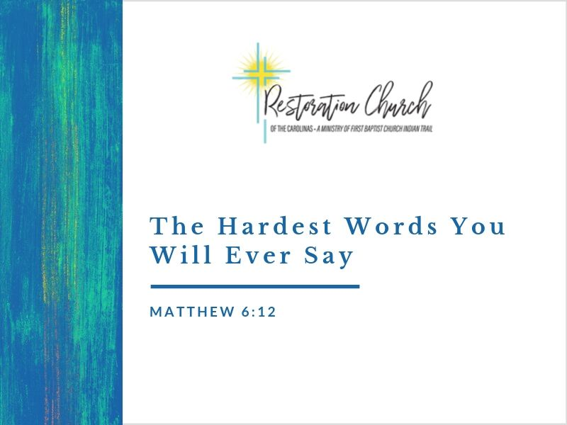 The Hardest Words You Will Ever Say Image