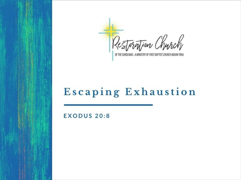 Escaping Exhaustion Image