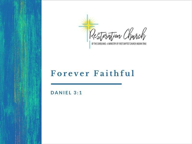 Forever Faithful Image