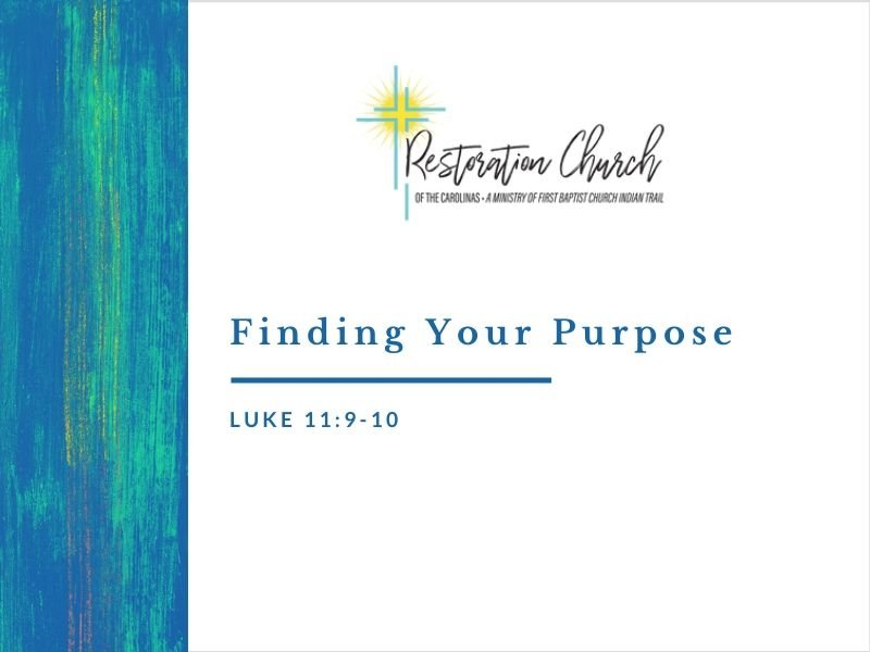 Finding Your Purpose Image