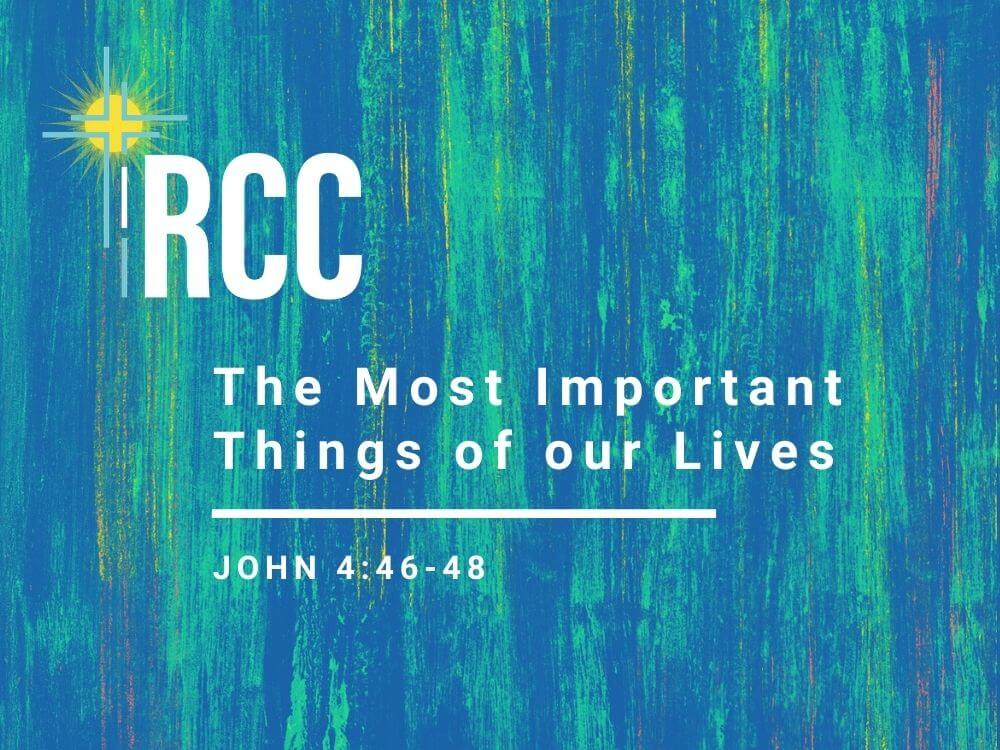 The Most Important Things of our Lives Image