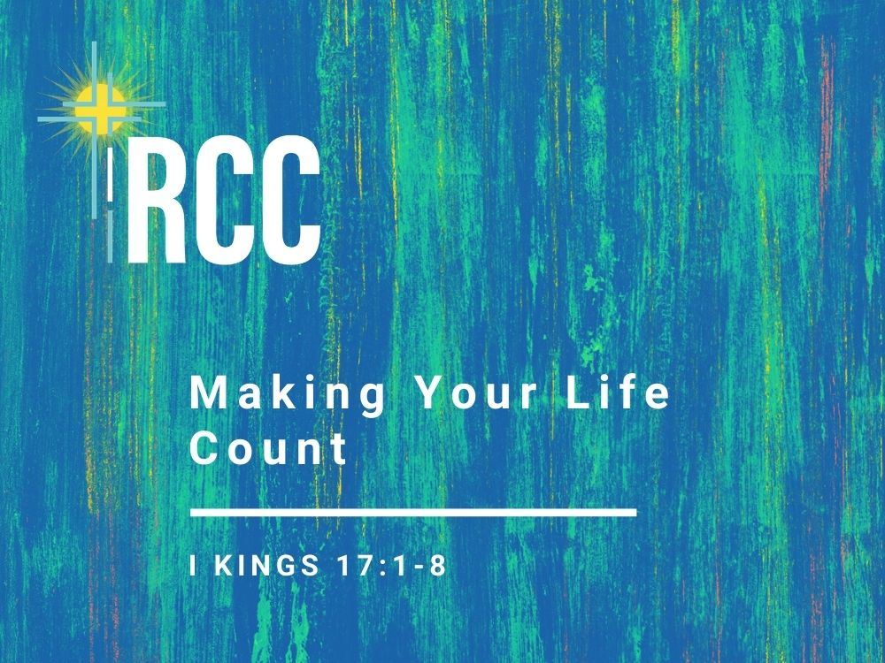 Making Your Life Count Image