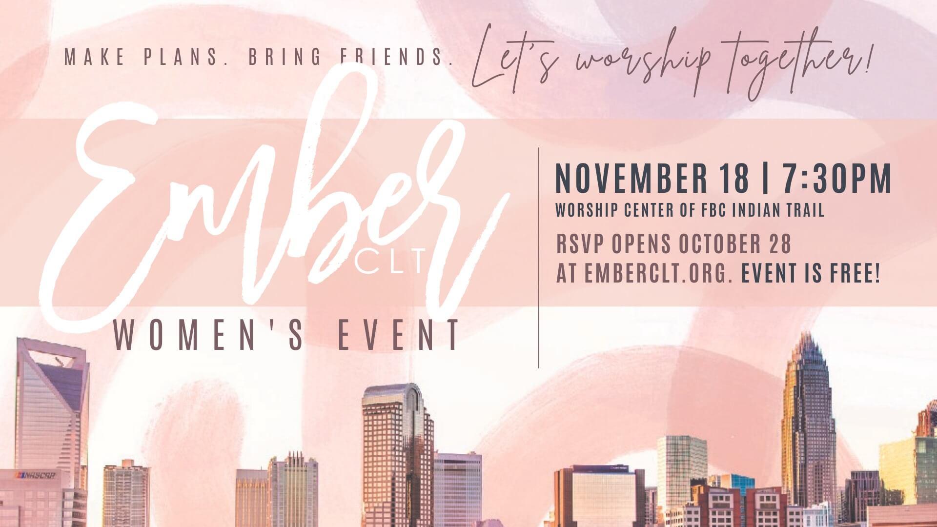Ember Women's Event
