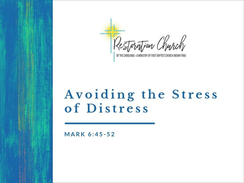 Avoiding the Stress of Distress Image