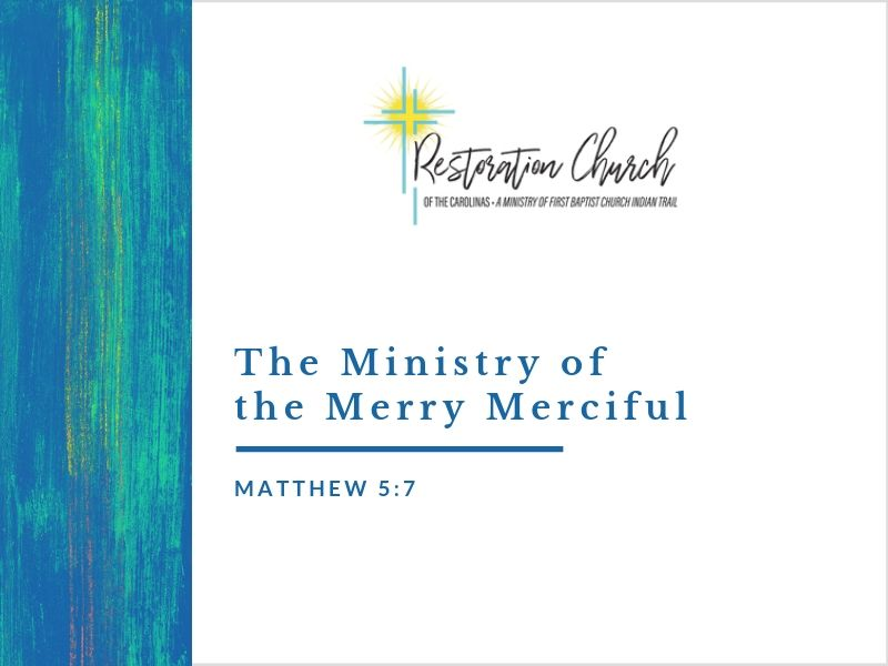 The Ministry of the Merry Merciful Image