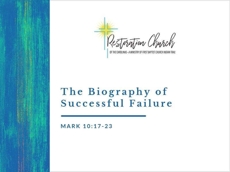 The Biography of Successful Failure Image