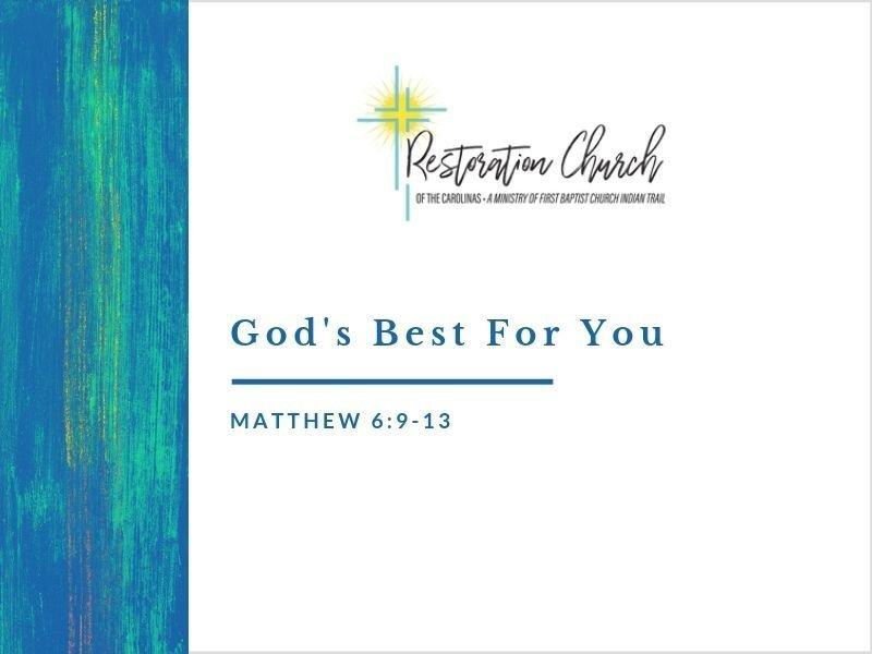God's Best For You Image