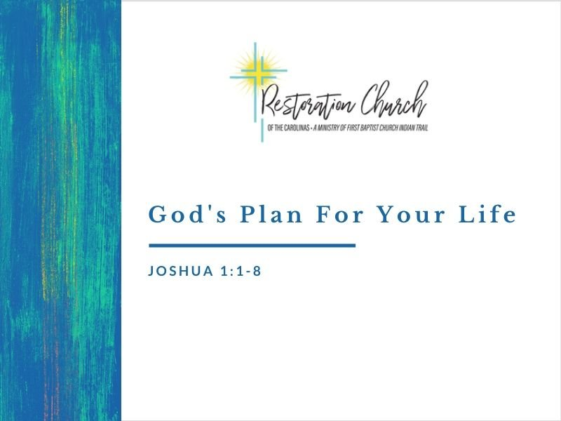 God's Plan For Your Life Image
