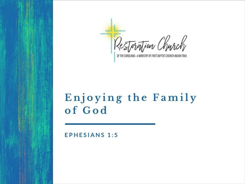 Enjoying the Family of God Image